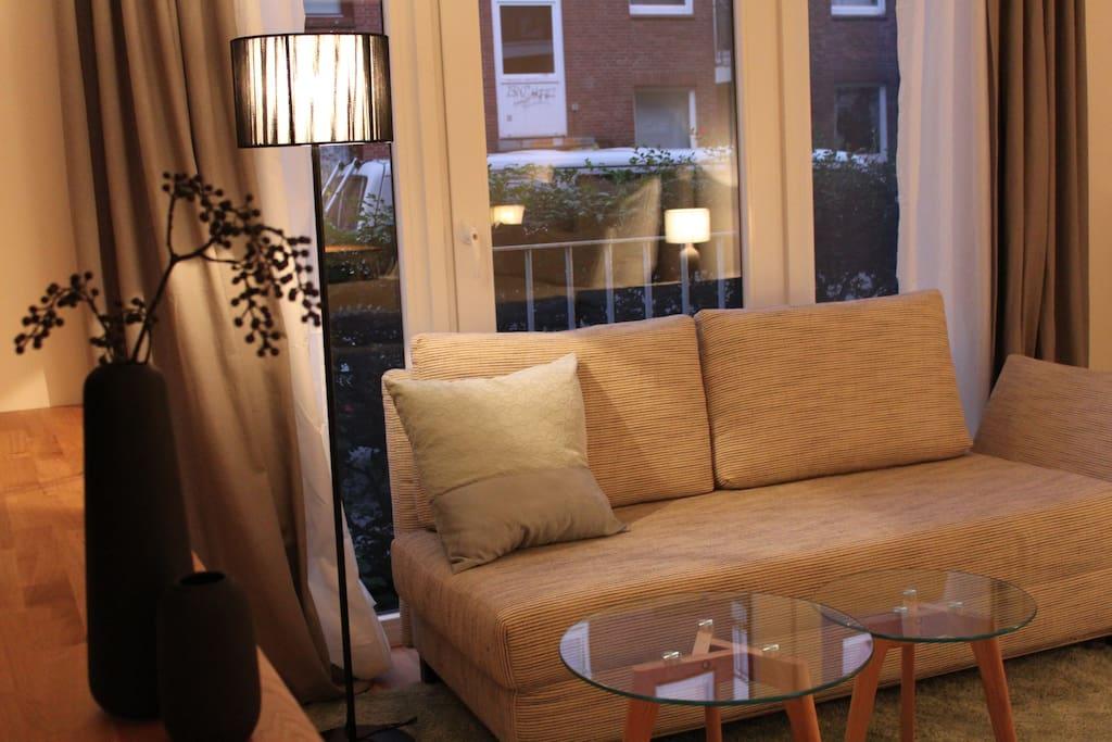 Zentrales design apartment auf st pauli wohnungen zur for Design appartement hamburg