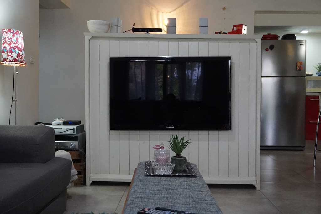 Salon with TV