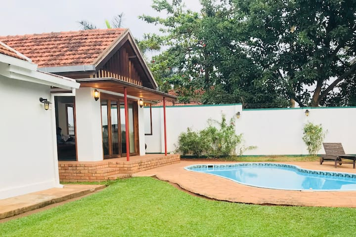 Private cottage in the heart of Kampala.