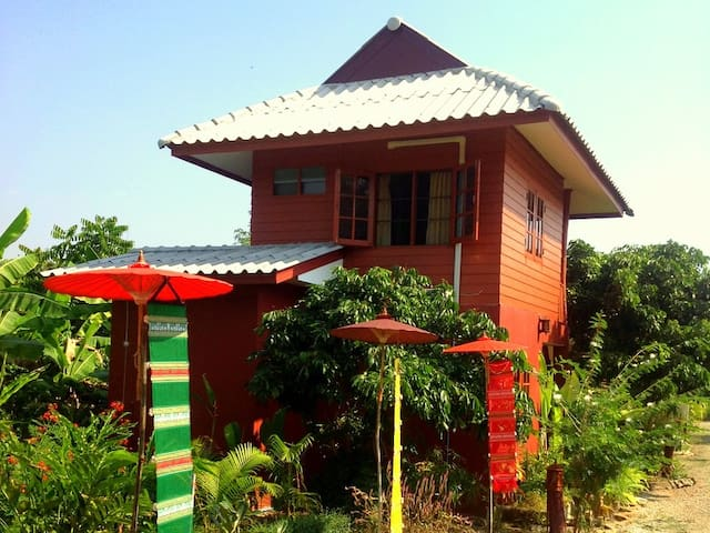 A Private Cozy Space In Fruit Farm - Pa Bong - House