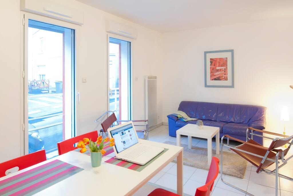 Superbe t3 immeuble r cent appartements louer nantes for Reglement interieur immeuble
