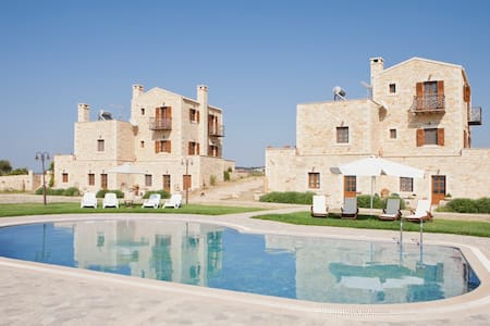 Excellent 4 Big Groups & Sea Views,Villa Arodamos - Pikris - Villa