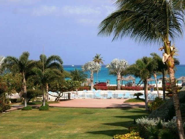 Ocean Comfort 2BR condo - P216 - Eagle Beach - Ortak mülk