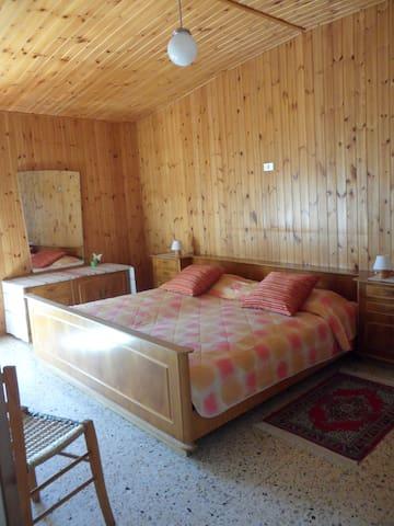Una camera per due, accogliente per una notte da sogno.