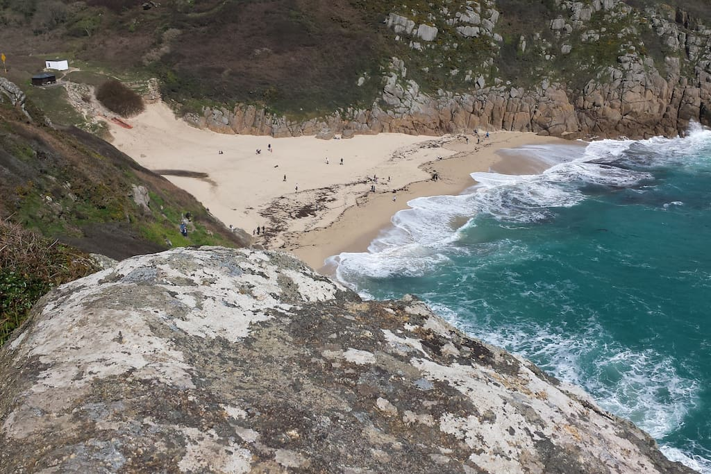 Visit Porthcurno with its golden beach and aqua clear waters and check out the views and shows from the famous open air Minack Theatre. amphitheatre. Also visit the Telegraph Museum and learn how communication was first made by using cables under the sea from Cornwall to America!
