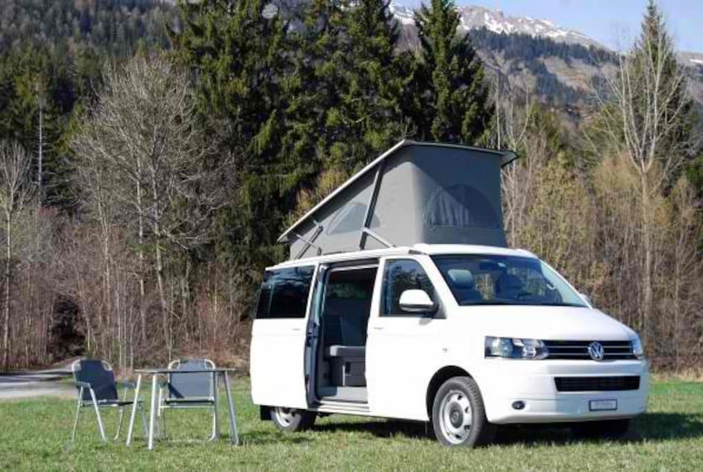 location van wv california tdi camping cars caravanes louer paris le de france france. Black Bedroom Furniture Sets. Home Design Ideas