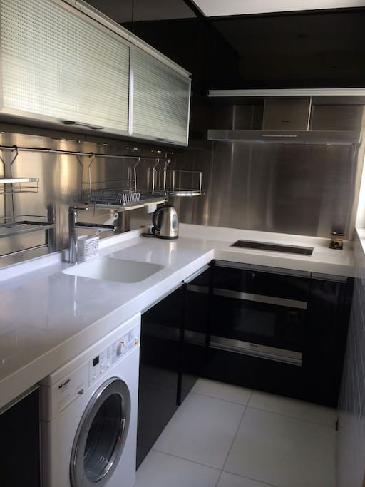 Kitchen incl washer/dryer