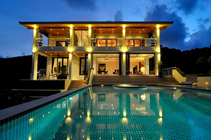 Villa with astounding sea view - Phuket, Thailand - Villa