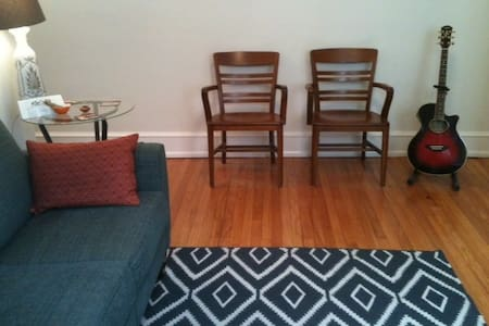 Lovely apartment in the heart of Narberth, PA - Narberth - Huoneisto