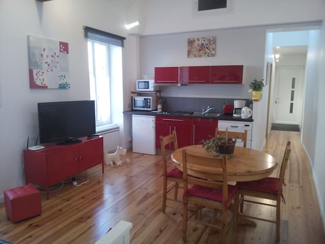 Appart 55m² centre-ville Coulommiers, 5 personnes. - Coulommiers - Apartment