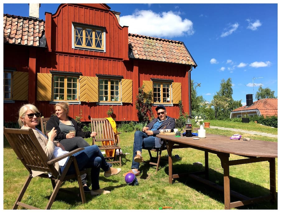 Countryside feeling 15 minutes from stockholm city for Maison stockholm