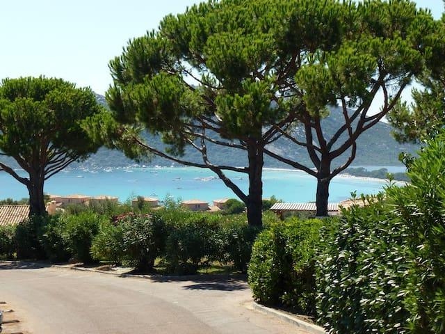 Villa T3 vue mer à Santa-Giulia