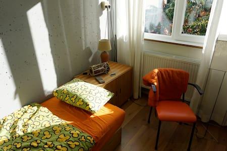 Oldenzaal eenpersoonskamer met werkplek.