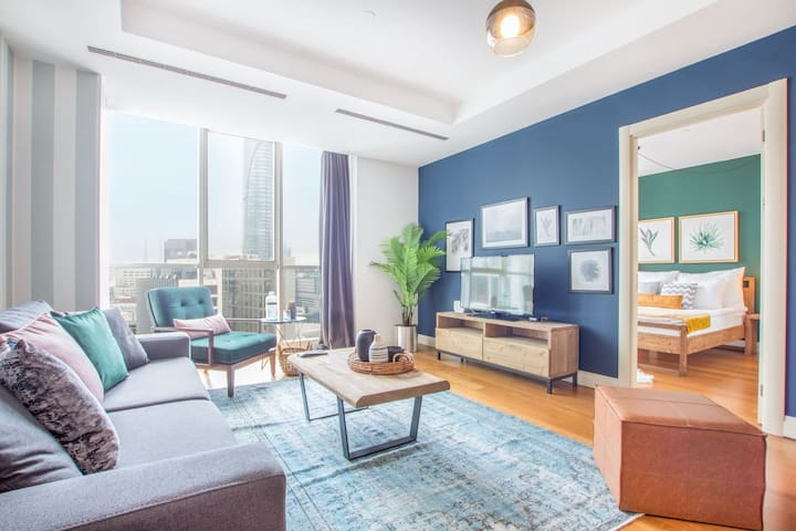 Inviting Mashattan 1BR with Outdoor Pool