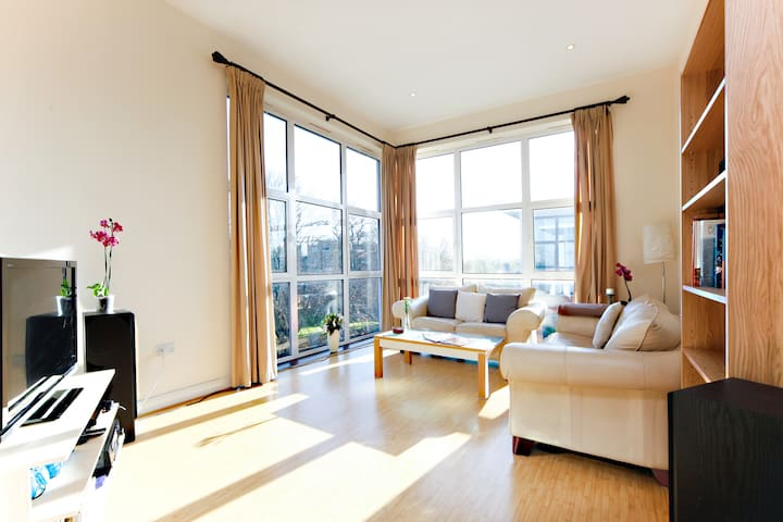 Cosy Double + Bathroom, Penthouse - Londra - Daire