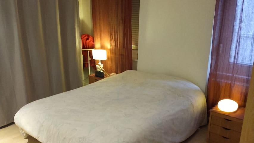 Jolie chambre dans appart. cosy proche de la gare - Mulhouse