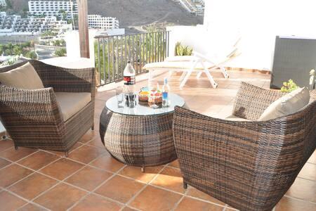 Apartamento 80 m con vistas al mar - Playa del cura  Mogan - Appartement