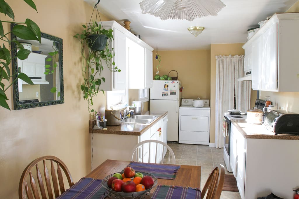 Kitchen from the dining room
