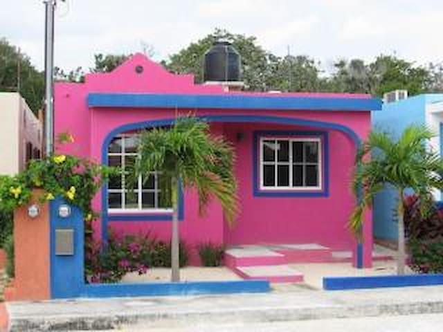 Casa Rosa- Chan-Chemuyil - Chemuyil - Casa