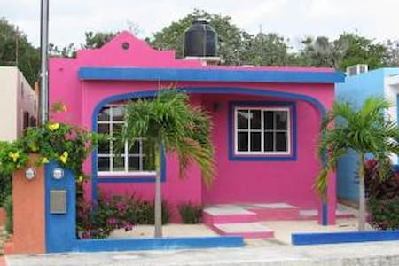 Casa Rosa- Chan-Chemuyil - Chemuyil - House - 0