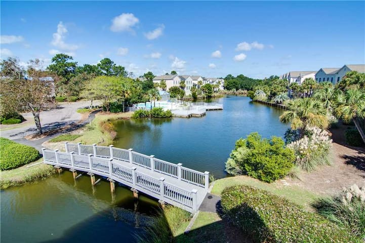 Book Soon For New Lower Rates On Seabrook Island! Enjoy Lovely Lagoon Views!