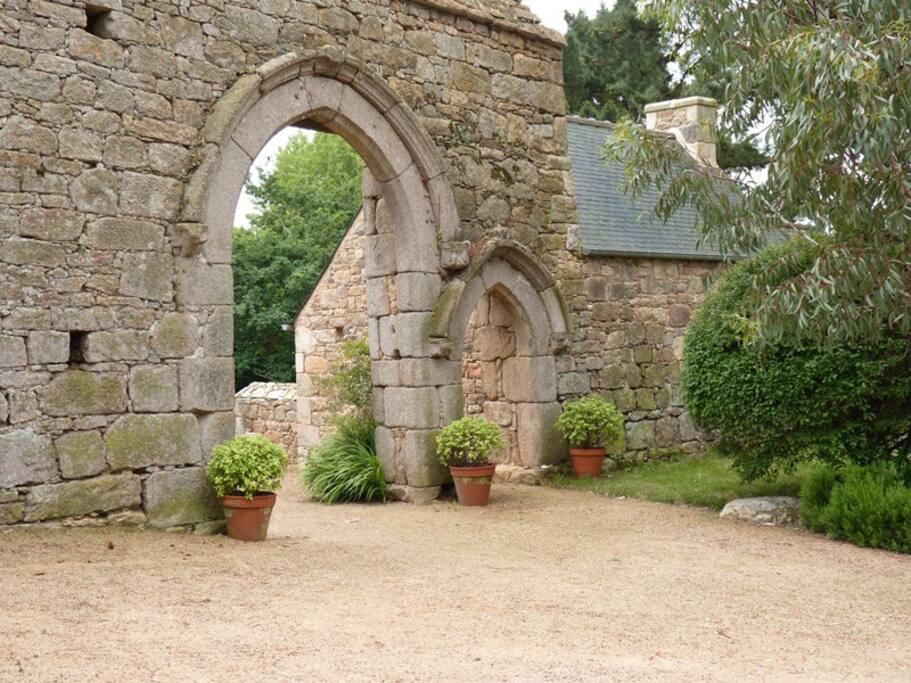 Le porche du XVème siècle