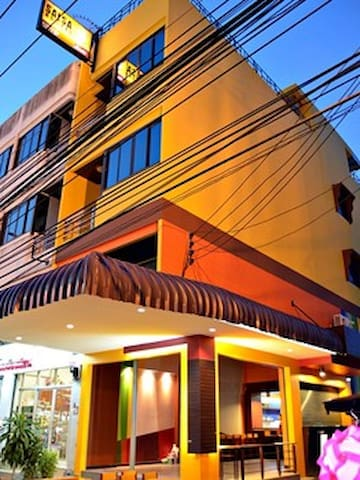 The only hostel in town; Salsa! - Chumphon Thailand