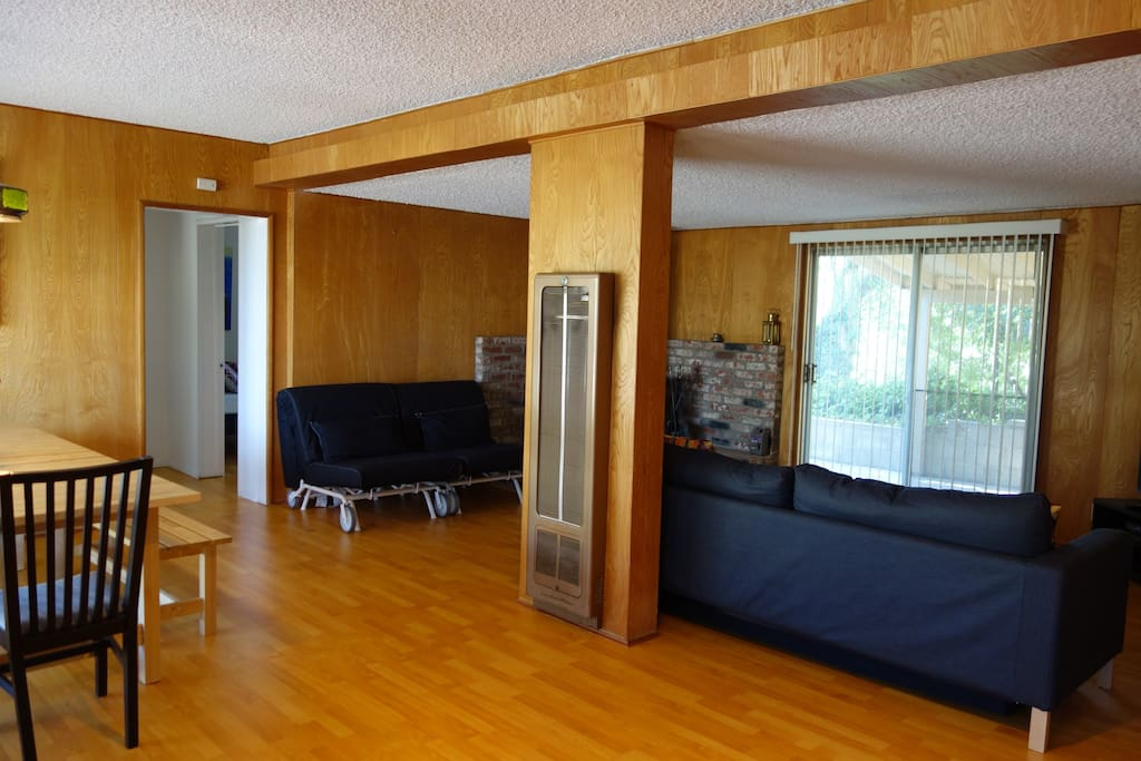 Large communal area and TV room.