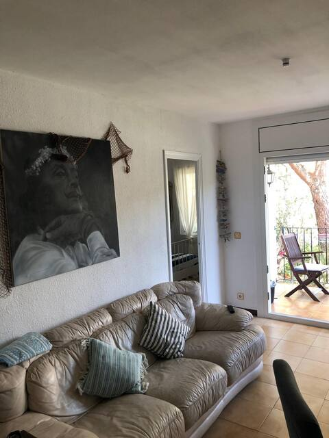 Charming apartment in Calella Palafrugell+parking