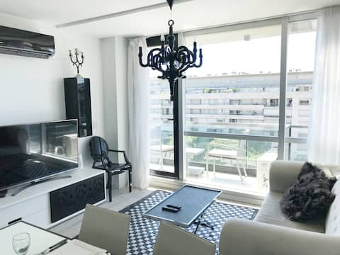 Beautiful 1 bdr Apartment at the Lumiere Building