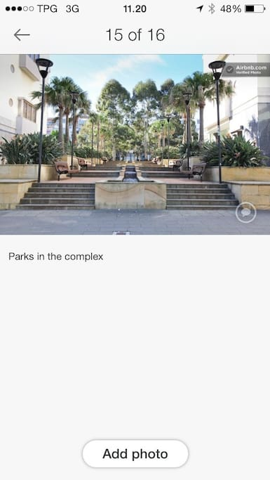 Park nearby