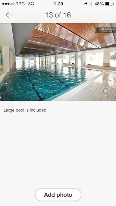 4 pools in the complex is included