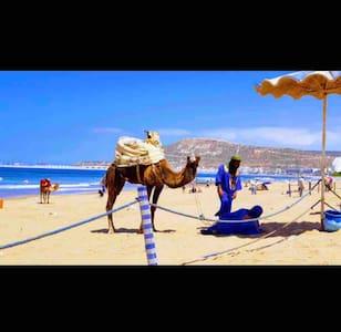 "Agadir, ""bienvenu Dans un quartier calme""    Wi-Fi"
