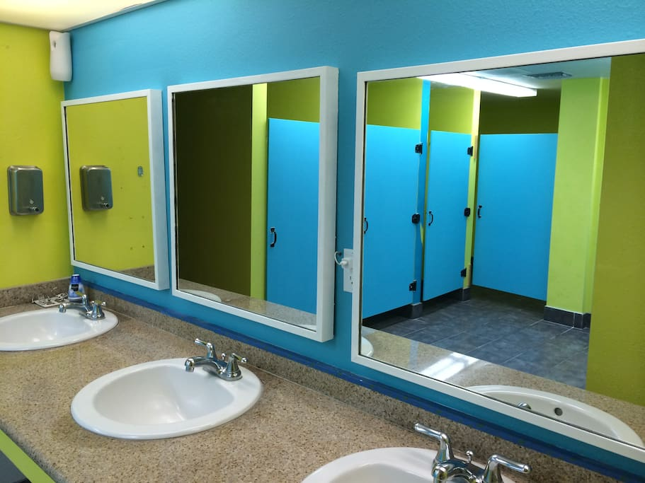 Male and Female Bathrooms!
