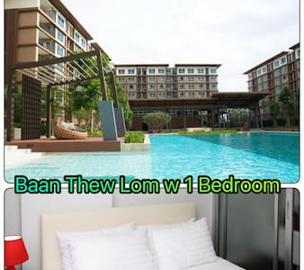 1Bedroom ,Baan Thew Lom ,Sea100m - Cha-am