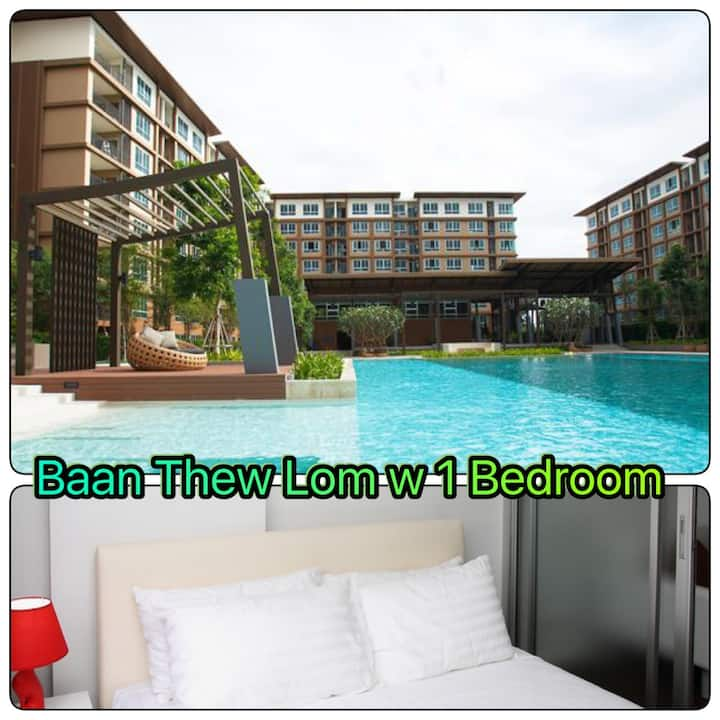 1Bedroom ,Baan Thew Lom ,Sea100m