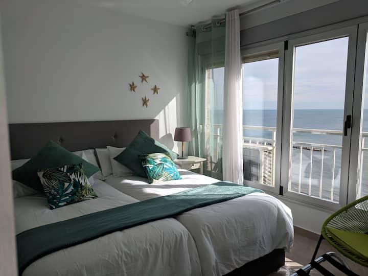 Apartamento Primera línea de playa del Postiguet
