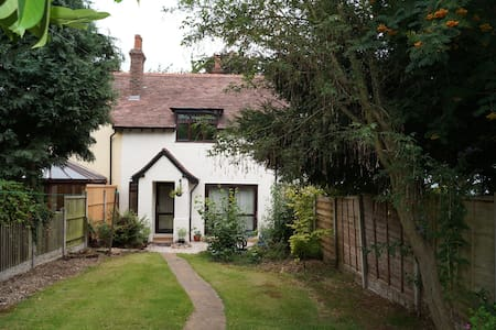 Recently renovated, cosy former workers cottage.