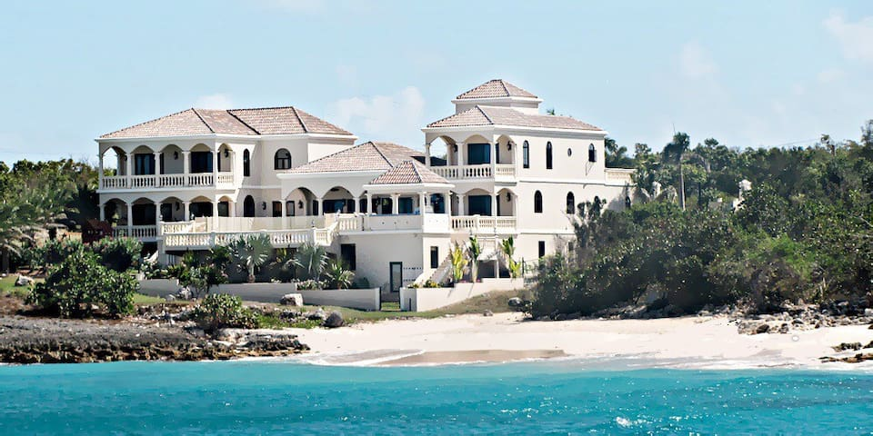 Sandcastle 10,000 sf Beachfront Villa (by Owner) - The Valley - Vila
