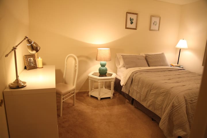Sunny Room Near MSU + Private bath! - East Lansing - Appartement