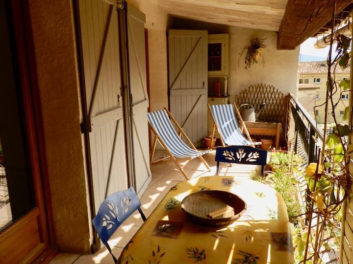 Gîte La Ferraio 40 m² + terrasse de 11 m²