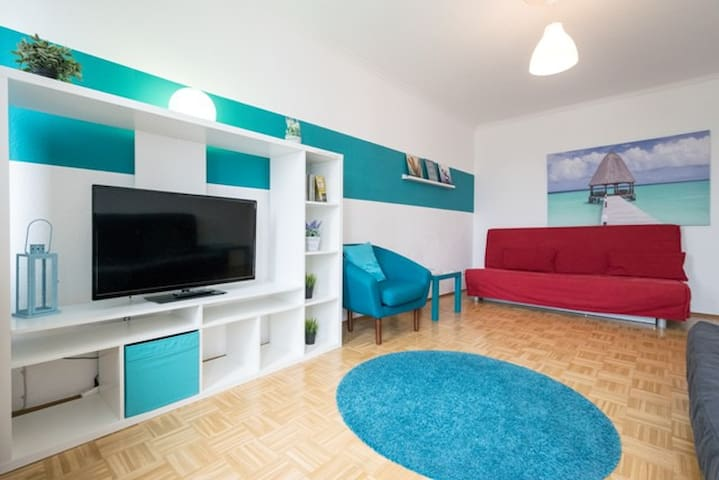 Good Flat next to the MESSE and TRAIN STATION