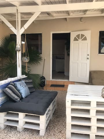 Basic, small but cosy apartment close to beach