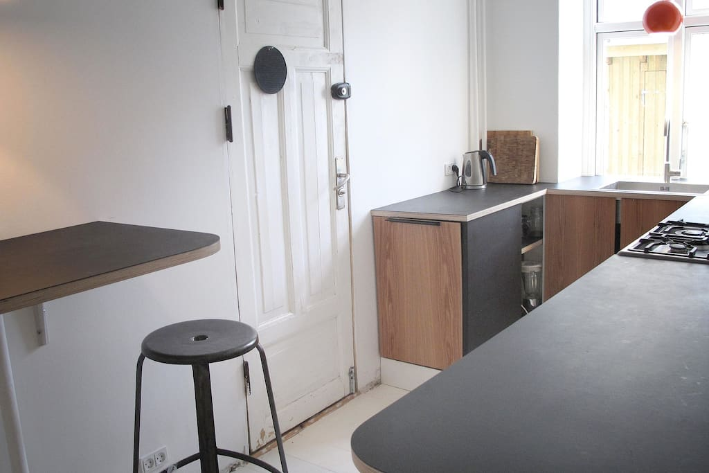 Our brand new kitchen