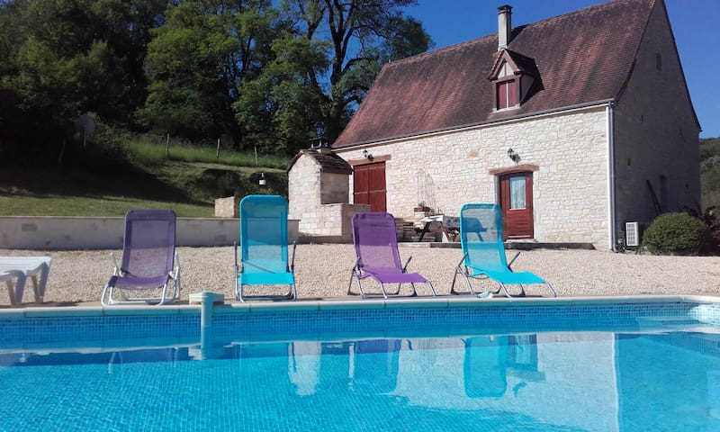 Le Grillou - typical and charming country house - Gourdon - Casa