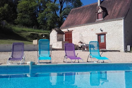 Le Grillou - typical and charming country house - Gourdon - Haus