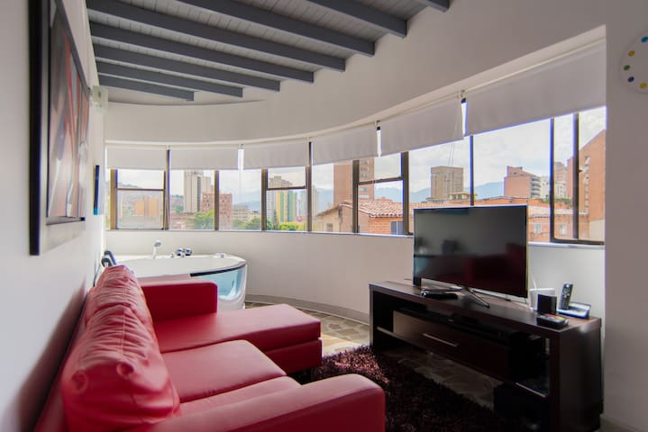 Penthouse in heart of Medellin