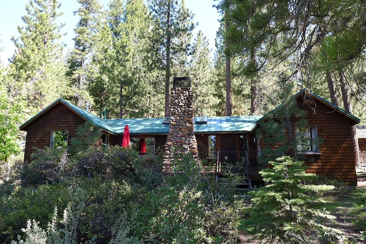 Rustic Tahoe Cabin, family style