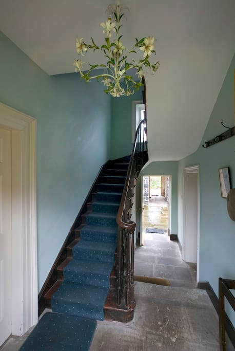 Ballealy Cottage Hall and Stairwell