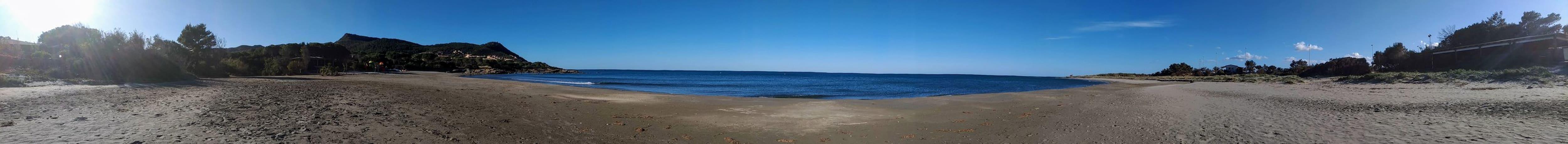 Vista mare da  da Porto Corallino  a Porto Tramatzu